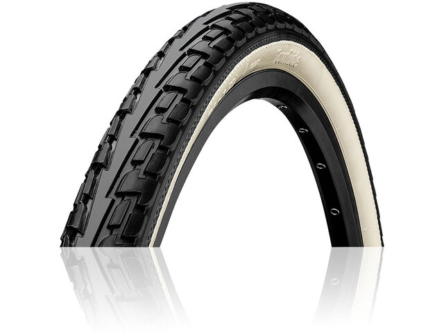 "Continental Ride Tour Clincher Tyre 27x1 1/4"", black/white"